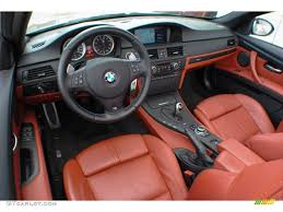 fox red novillo leather interior 2016 bmw m3 convertible photo 71097967