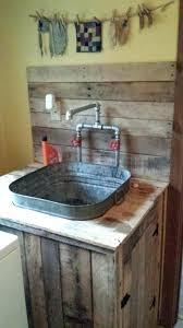 tin wash tub primitive rusty decorative plates and bowls decor