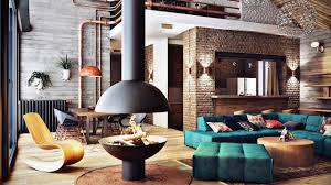New York Loft Interior Design Modern Urban Loft New York Style Interior Modern Urban Interior