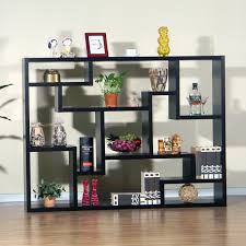 painting shelves ideasMarvelous IKEA Low Bookcase Design For TV Stand Using Black