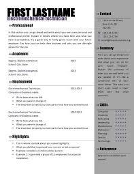 Resume Template Microsoft Word Download Free Gentileforda Com