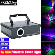 Laser Light Party Machine Us 229 0 1w Powerful Super Laser Light Dmx512 Stage Laser Light 20kpps Dj Bar Party Show Stage Light Led Stage Machine In Stage Lighting Effect