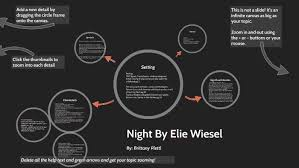 Night By Elie Wiesel Character Chart Mind Mapping Of Night By Elie Wiesel By Brittany Plettl On Prezi