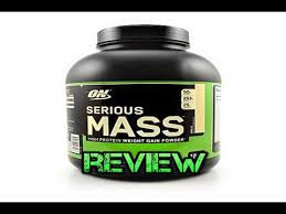 serious m by optimum nutrition weight gainer review