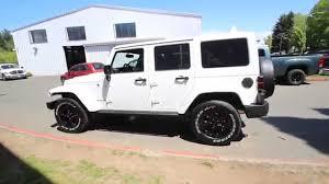 jeep wrangler white 2015. 2015 jeep wrangler unlimited altitude white fl686122 redmond seattle youtube n