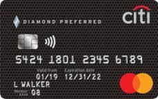 citi diamond preferred card low