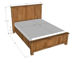 The Queen Size Bed Frame Plans The Queen Size Bed Frame Plans
