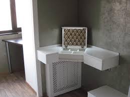 Table Pleasing Corner Vanity Table Ideas Unique Hardscape Design