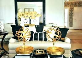 Black White And Gold Decor Black And Gold Room Decor Black And Gold ...