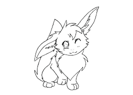 Pokemon Coloring Pages Eevee Evolutions Glaceon Eeveelutions