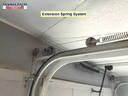 garage door extension spring replacement door spring replacement cost garage door tension spring garage tension springs