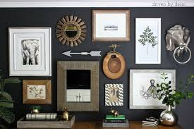 home office wall decor. driven by decor eclectic home office gallery wall b