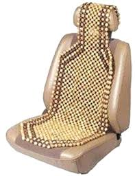 car seat car seat covercom best beaded cover images on covers cushion wood bead natural