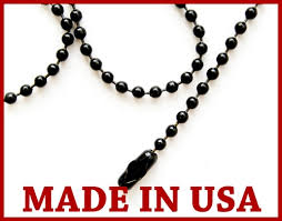 ball chain necklace. black ball chain necklace 24\