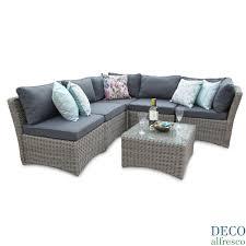 deco garden furniture. 6PC High Back Modular Daybed Sofa Set \u2013 Tri-weave Rattan Furniture Deco Garden R