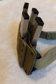 Kydex Magazine Holder quad carry 100 magazines kydex rig Tactical Gear Pinterest 28