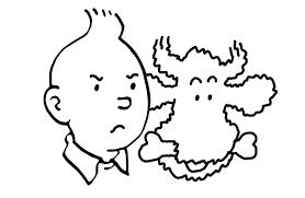 92 Dessins De Coloriage Tintin Imprimer Sur Laguerche Com Page 8