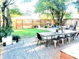 gravel patio backyard ideas pea seating decks edging resin diy gravel patio installing a pea