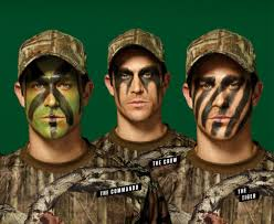 Hunting Face Paint Patterns