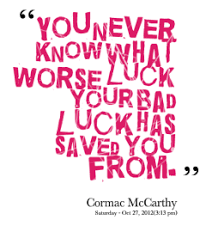 Famous quotes about 'Bad Luck' - QuotationOf . COM