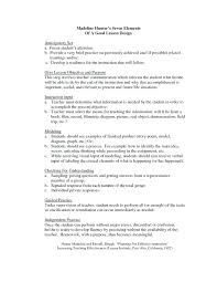 Daily Lesson Plan Template Word Templates Hunter Model – Davidpowers