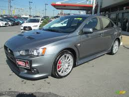 mitsubishi evo 2013 black. 2013 lancer evolution gsr mercury gray black photo 1 mitsubishi evo
