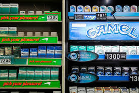 Cigarette Vending Machines Illegal Impressive Mayor Endorses Raising Cigarette Prices In New York City To Cut