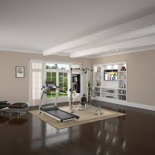 cool home gym decorating ideas