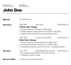 the different types of resumes examples of different types of resumes  reverse chronological different types of