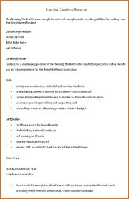 Student Objectives For Resume Resume Objectives Examples For