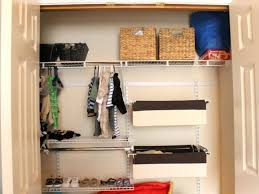 image of nursery closet organizer diy