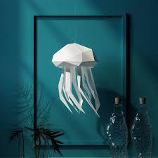 How To Make Jellyfish Lights Vasili Lights Origami Style Diy Lanterns And Aquatic Pendant
