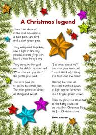 This is the story I tell my children every year as we put up our Christmas  tree, I was so excited to find it in poem form so I had to share.