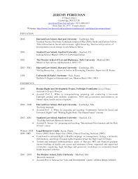 Harvard Sample Resume Fresh Harvard Law School Sample Resume