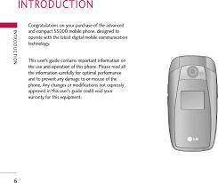 LG Electronics USA S5000 PCS GSM Phone ...