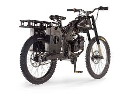 motorcycle hybrid designed as a survival bike that can travel 300