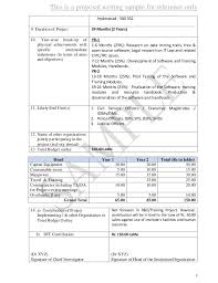Sample Budget Proposal Extraordinary Proposal Sample 48