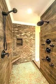 walk in shower dimensions doorless showers without doors