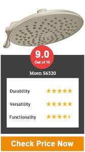 2 moen s6320 velocity two function rainshower shower head