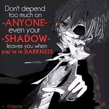Dark Quotes Inspiration Dark Quotes Anime Amino
