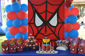 Spiderman Birthday Party Ideas Superhero Party Ideas Superhero