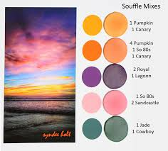 Premo Color Mixing Chart New Color Tuesday The Final Color Mixes Sculpeysculpey