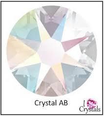 Details About Crystal Ab Swarovski Flatback Rhinestone 3ss 4ss 5ss 7ss 9ss 12ss 16ss 20ss 1440