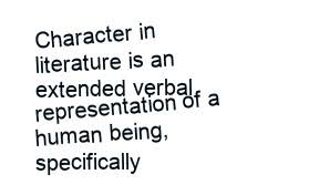 character development essay character development essay traits character