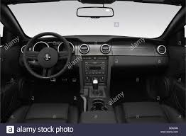 2008 Ford Shelby GT500 in White - Dashboard, center console, gear ...