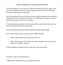Expository Essay Thesis Statement Examples Thesis Generator