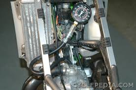 kawasaki kdx 200 220 manual service and repair cyclepedia kdx200 kdx220 compression test