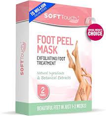 Foot Peel <b>Mask</b>, Exfoliating Callus Remover (2 Pairs per Box) , Make ...
