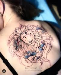 Lion Back Tattoos Designs Pin By Lori Bly On Tattoos Tattoos Back Tattoo Back
