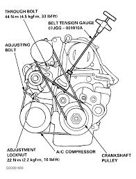 1995 honda accord serpentine belt routing and timing belt diagrams rh 2carpros 1995 honda accord timing belt replacement 1995 honda accord timing belt
